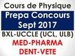 Cours particuliers physique-Prepa concours 2017