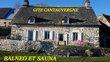 Gite au cœur de l'Auvergne avec balnéo et sauna