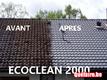 Démoussage et nettoyage de toitures