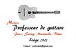 Cours de guitare jazz, swing, manouche à Liège...
