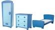 À vendre chambre enfant ikea mammut bleu