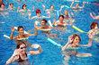 Gymnastique dans l'eau