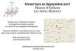 Maison d'enfants - Ouverture septembre 2017 -...