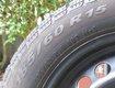 4 pneus hiver en bon état 185-60-R15