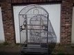 Cage pour perroquet martelée 196x101x91cm très...