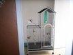 Cage pour perroquet martelée 170x70x95cm très bon...