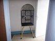 Cage pour perroquet martelée 165x57x44cm en bon...