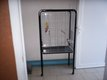 Cage pour perroquet de 150x50x80cm bon état.
