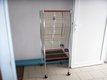 Cage pour perroquet de 150x55x55cm en bon état.
