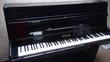 Piano droit moderne Gunther noir