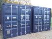 Vente de containers maritimes de 6m x 2,6m x2,6m
