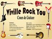 Viville Rock You Cours de guitare