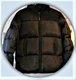 Doudoune noire (taille 38-40)