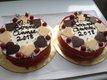 Gâteaux , pièces montées glacées anniversaires ,...