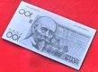 Billet 100 BEF (Beyaert) - plaquettes métalliques...