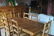 salle à manger complète en chêne.