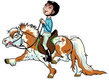 Cours d'équitation niveau débutant – amateur