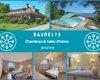 Chambres et table d'hôtes avec piscine, SO France