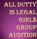 ADIL hip-hop girls audition