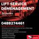 Lift service + déménagement 0488274461