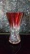 Vase en cristal Val Saint Lambert modèle Teniers