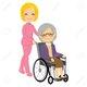 Garde malade - Aide aux personnes âgées  Bruxelles
