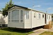 Caravane résidentielle au camping Polderpark