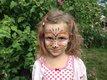 Artistieke kindergrime, met teken en dans...