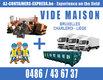 0488 21 76 99 Vide maison Bruxelles, Charleroi,...