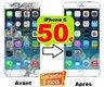 Réparation écran iPhone 6 à 50 +verre...