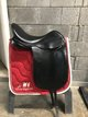 Selle dressage anky painted black 17.5