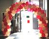 Montage de ballons: arcade, colonne, centre de...