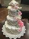 Gâteau de lange ou diaper cake