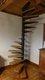 Escalier colimaçon acier & bois (hêtre)
