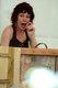 Conteuse en petit théâtre japonais