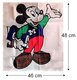 [collector] Mickey  grand drapeau publicitaire...