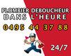 Débouchage 0495 44 37 88  24/7 à Bruxelles et...
