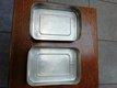 Boîte à tartines rétro en aluminium