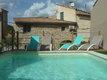 Maison 2 chambres avec jardin et piscine