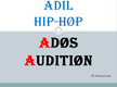ADIL hip-hop Ados audition