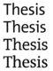 Hulp bij scriptie / masterproef / thesis (ook...