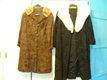 6 manteaux de fourrures