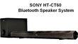Barre de son Sony ht-ct60 bluetooth speaker system
