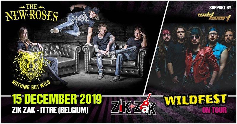 The New Roses + Wildheart at Zik Zak