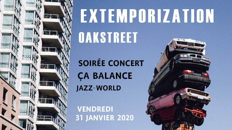 Jazz avond - Extemporization en Oakstreet