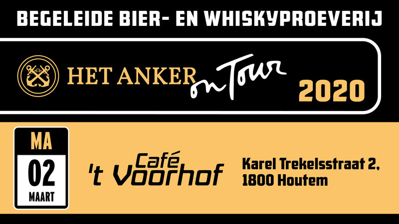 Bier- & whiskyproeverij Houtem 'Ankeravond On Tour'   t Voorhof