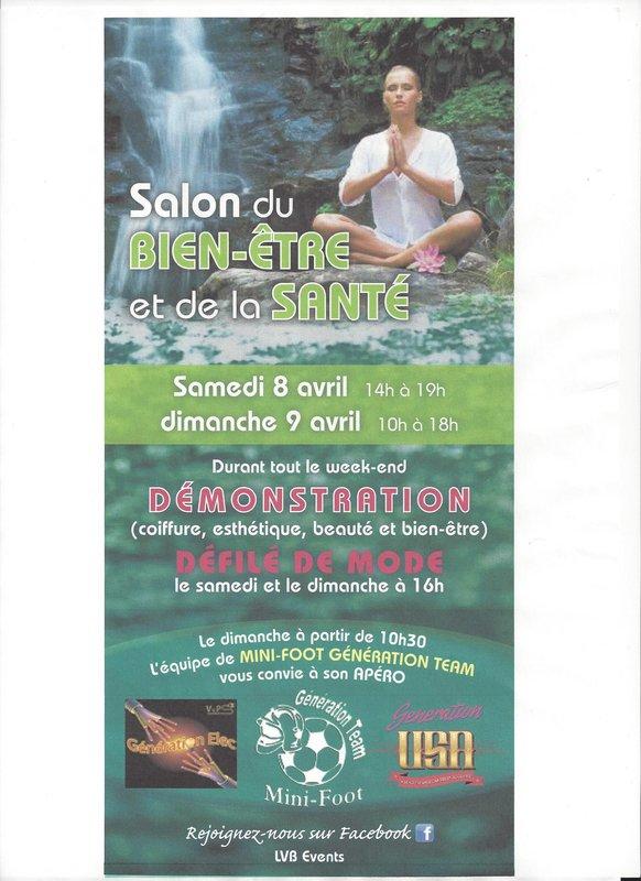 Salon du bien etre et de la sant expo mouscron - Salon les charmettes mouscron ...