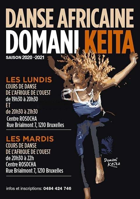 Cours De Danse Africaine Guinee Avec Percussions Live Domani Keita Saint Josse Ten Noode Quefaire Be