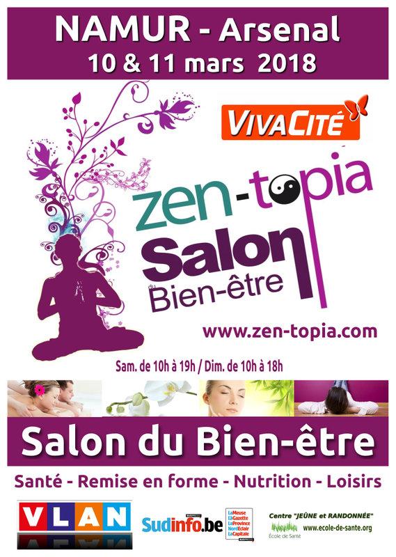 Zen topia salon du bien tre namur for Salon du zen