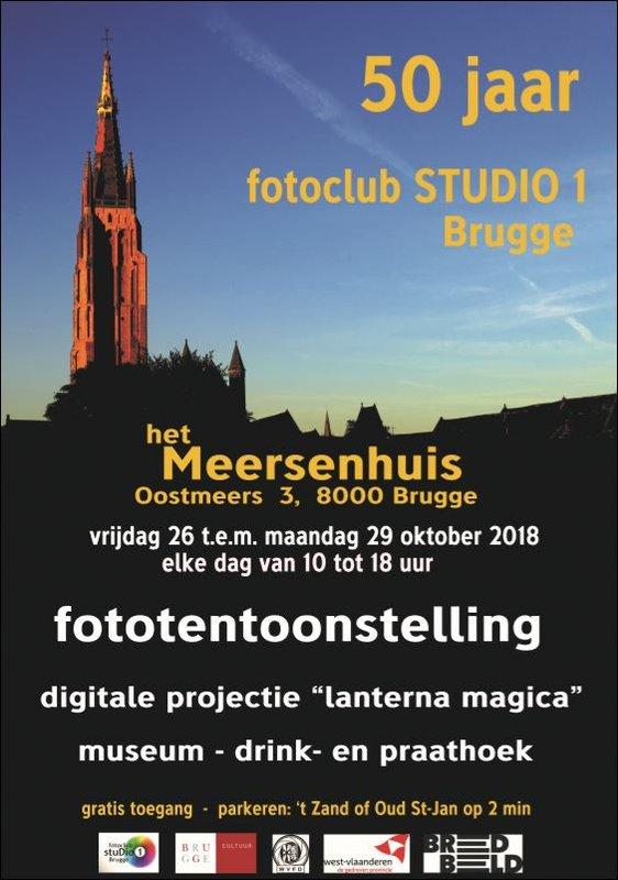 50 jaar wat te doen Fototentoonstelling 50 jaar Studio 1 Tentoonstelling Brugge  50 jaar wat te doen